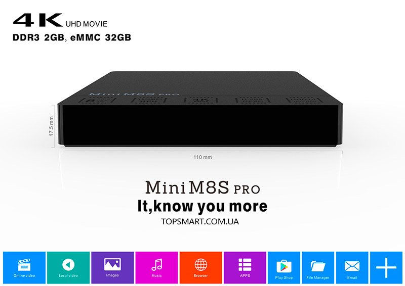 Mini M8S Pro купить на Amlogic S912