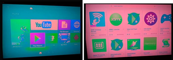 зелень, зеленый экран, инверсия цветов на телевизоре Sony, Philips и приставке смарт тв