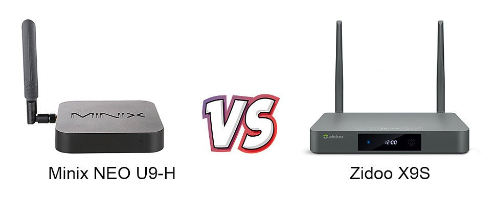 Zidoo X9S vs Minix NEO U9-H. Что выбрать?