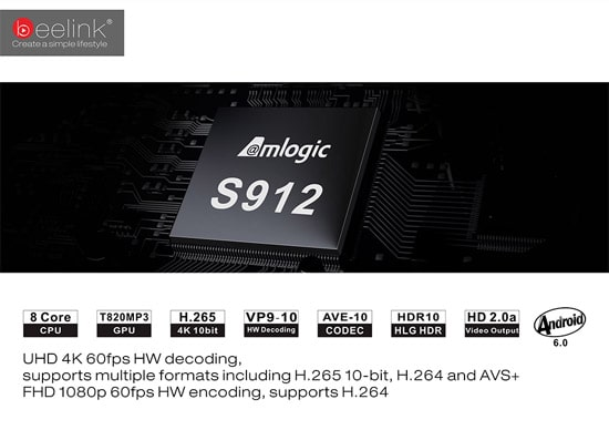 amlogic S912 на приставке Beelink GT1 Ultimate