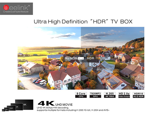 Beelink GT1 Ultimate для просмотра 4K видео
