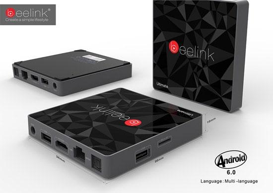 Компактный tv box от beelink