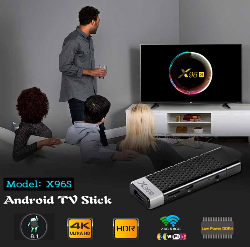 tv stick x96s 4/64 gb