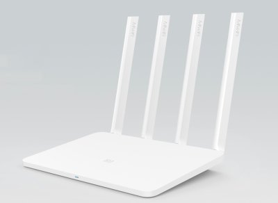 Гигабитный маршрутизатор Xiaomi Mi Wi-Fi Router 3G White